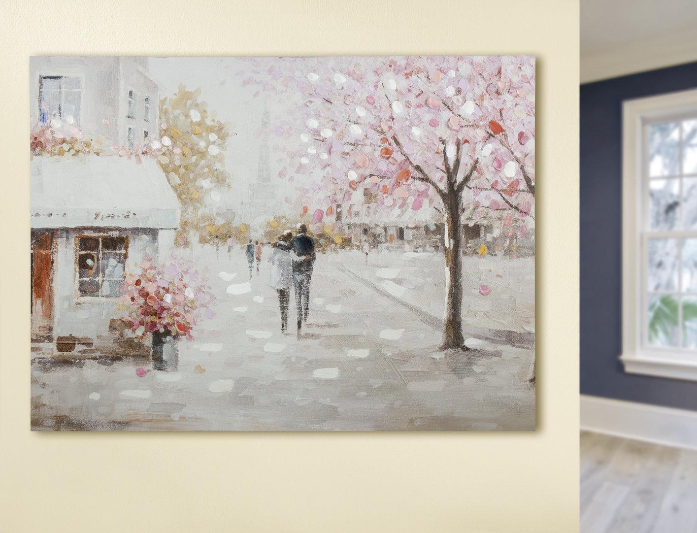 Bild Gemälde  Pariser Morgen Gilde